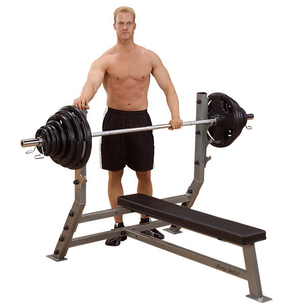 Body-Solid Flat Olympic Bench