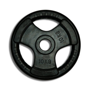 Rubber-Coated Olympic Weight Plate