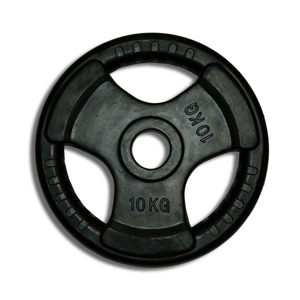 Rubber Coated Olympic Weight Plates Fitnessworld