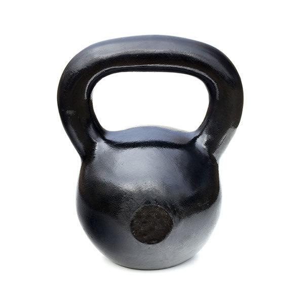 Black Cast Iron Kettlebell