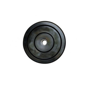 Black Bumper Plate
