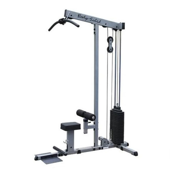 Body-Solid Lat Pulldown and Seated Row