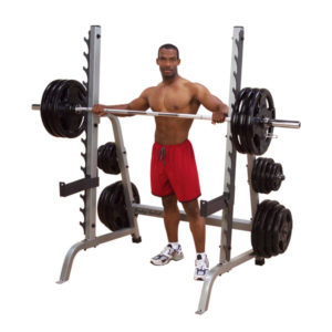 Body-Solid Multi-Press and Squat Rack