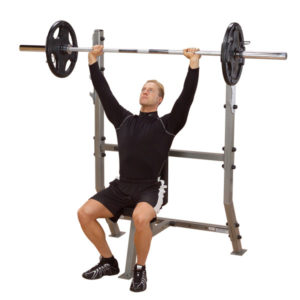 Body-Solid Shoulder Press Olympic Bench