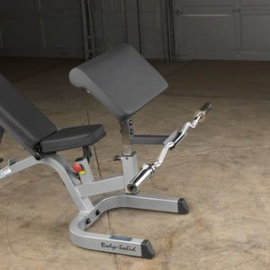 Optional Preacher Curl Attachment for GFID71 Bench