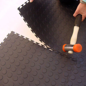 Protective Interlocking Gym Flooring